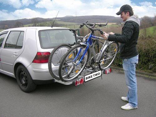 Kupplungsträger: EUFAB 11411 Fahrradträger BIKE TWO2
